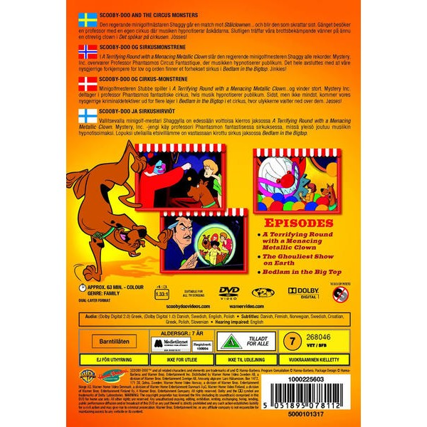 Scooby Doo And The Circus Monsters