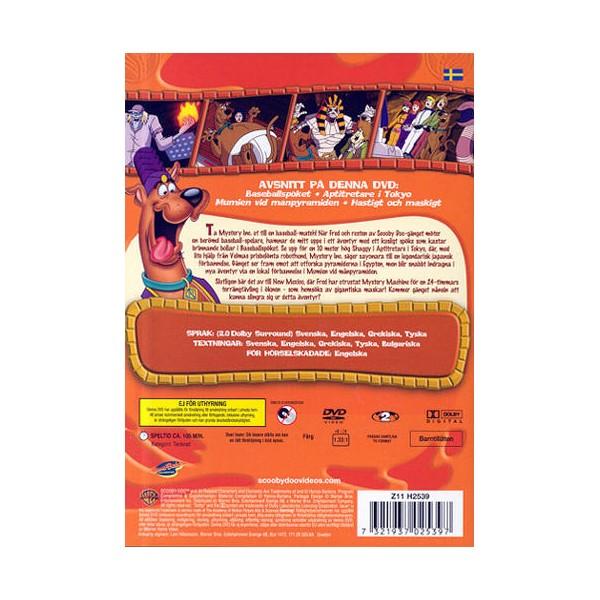 Scooby Doo och Mumien Vid Månpyramiden