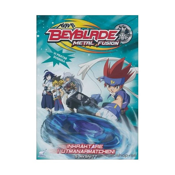 Beyblade Metal Fusion Vol 6